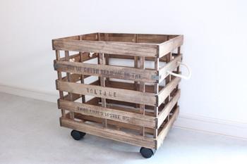 丈夫で使い勝手の良いキャニスターもすのこでDIY。 常温保存したい野菜の保管や、パントリーなどでとっても便利です。