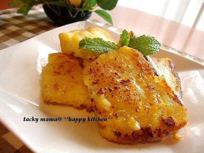 爽やかなオレンジが香るフレンチトースト。あまり食欲がない朝にもおすすめです。