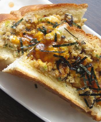あっさりとした味では物足りないという方は、鶏そぼろを使ったレシピはいかがでしょうか?しっかりめの朝食をとりたいときにも良いです。