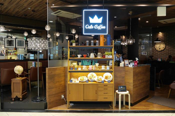 こちらもノルウェーオスロのコーヒーが味わえるカフェ。写真の銀座店のほか、白金台、五反田、横浜などにもお店があります。