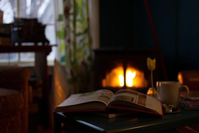 また、おうちによっては、セントラルヒーティングと暖炉を併用するご家庭もありますよ。