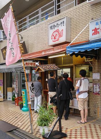 「柳屋」の支店として1957(昭和32)年に開業。「変わる時代に変わらぬ味」がモットーのたい焼き屋さん。
