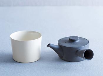 長く使い続けたいこの急須。日本茶はもちろん、紅茶やハーブティとその日の気分に合わせて楽しみたいですね。