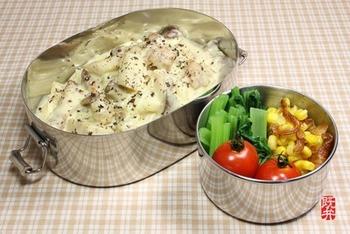 茹でたフォーをパスタの様に調理して作るカルボナーラ。こちらにはお手製のナンプラー豚も入っています。こんな食べ方も出来るなんてフォーは偉大ですね!