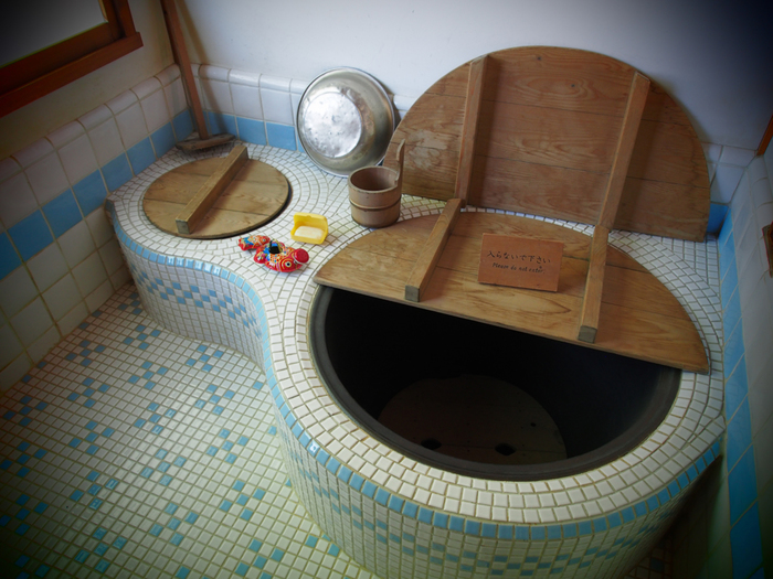 五右衛門風呂。