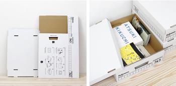 置いておくだけでデスクのオシャレ度がUPするこちらのボックスは、アメリカでは収納ボックスの定番として親しまれているFellowes(フェローズ)社のもの。銀行の書類を保管するために生まれただけあって、収納力&耐久性に優れています。
