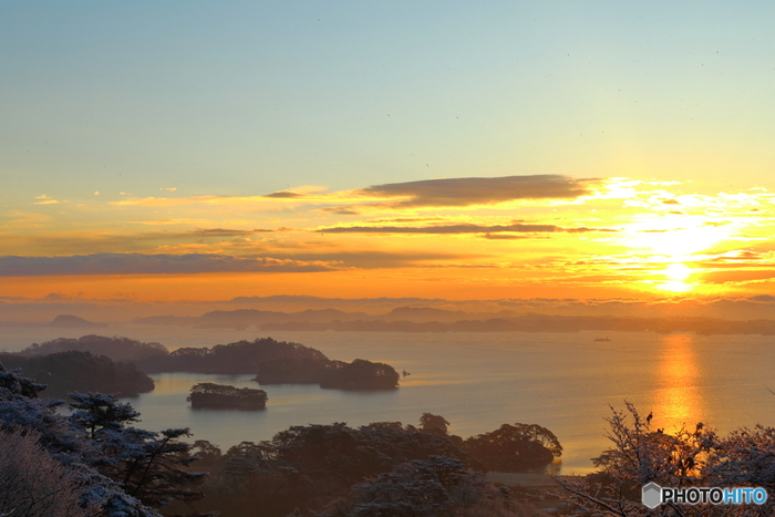 四季を通じて美しい景色を見せてくれる松島ですが、冬の松島も格別なんです!
