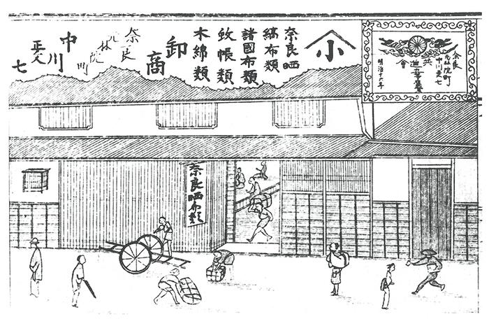 手紡ぎで手織りの麻織物を提供する中川政七商店。江戸時代・享保元年に創業という老舗メーカーのハンカチなら品質が安心です。