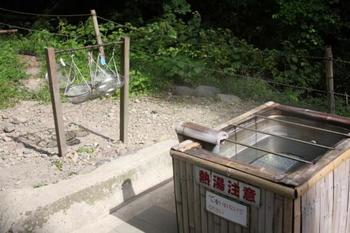 温泉の熱をさらに身近に感じるには、温泉卵が1番ですよね!遊歩道の途中に、その名も「卵湯」と名付けられた天然の湯溜まりがあり自由に温泉卵を作ることができます。