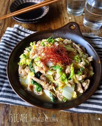 今まさに旬の白菜をたっぷり使ったあんかけ。生姜とあんかけのパワーで身体もポカポカになります。おすすめは断然あんかけ丼です♪ぜひお試しあれ。