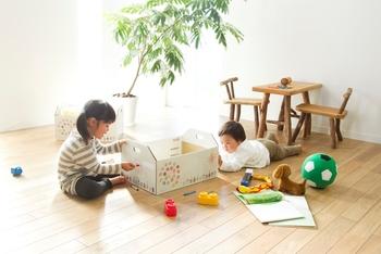 さらに、ふがしの入っていた箱はバスケットになり、おもちゃ入れにピッタリ♪お子様のお祝いの品として、食べて楽しい、使って楽しい喜ばれギフトになりそう。