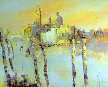 「ベニスの運河」・・・リュバロが描くイメージの世界。ここは、まさにリュバロの夢の国。