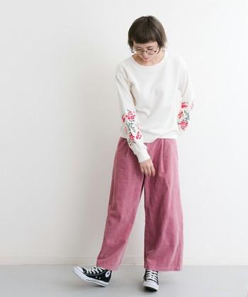 ギークファッションのイメージは『ゴーストワールド』のソーラ・バーチや『ウェルカム・ドールハウス』のドーンのような女の子。ちょっぴりダサい丸メガネにピンクやイエロー等のポップなアイテムを合わせて!