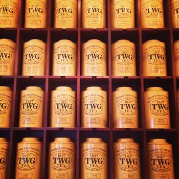 2008年にシンガポールで誕生した高級紅茶ブランド「TWG Tea(ティーダブリュジー ティー)」。