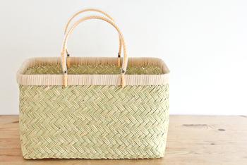 竹のかごも魅力的!しなやかな美しい佇まいの「鈴竹細工」は岩手県に伝わるものです。