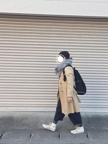リュック=カジュアルというイメージが強いですが、かっちりしたコートに合わせたり、おじ靴に合わせたり、抜け感のあるコーデに取り入れてみたりと色々なコーデが楽しめるんですよ。リュックは便利なアイテムです。お気に入りのリュックにいろいろ詰めこんで、寒い冬でも身軽にお出かけを楽しんでみませんか!?