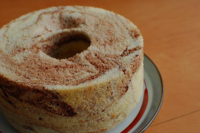 もちもちしっとり、フワフワ♪「米粉のシフォンケーキ」のレシピ