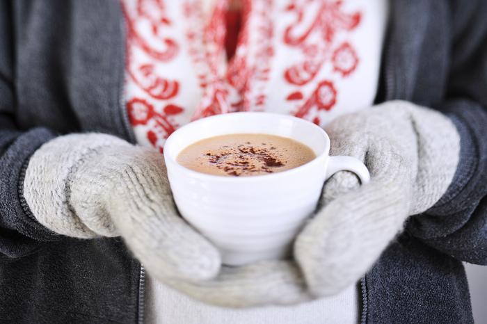 ホットチョコレートも北欧では大人気で、フィーカの時にもよく飲まれています。