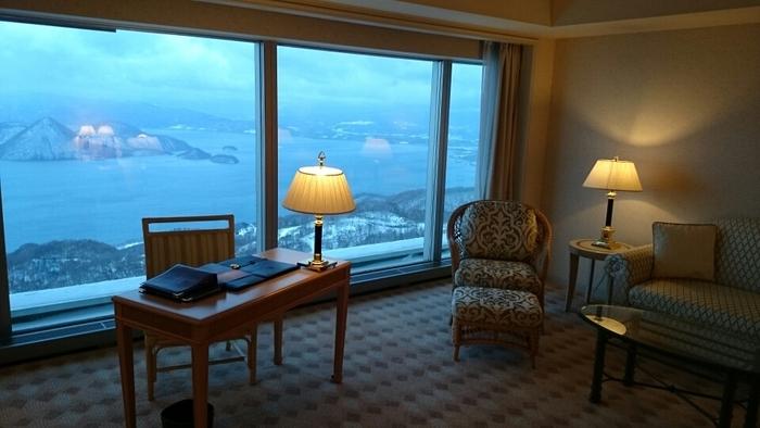 客室で優雅にくつろぎながらの眺めは別格なことでしょう!