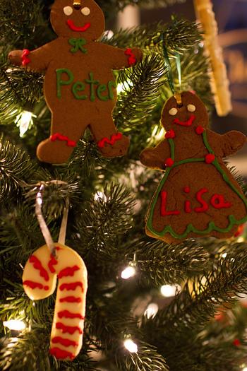 ジンジャーやシナモンといった香辛料は食べ物に入れると日持ちがするため、クッキーをはじめ、パンやパイなどに使用されています。ちなみにクリスマスシーズンに飾られるようになった理由は、「強い香りが魔除けの効果を発揮するため」と言われています。