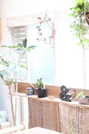 グリーンがあることで、お部屋に彩りがプラスされるだけでなく、季節のみずみずしさも感じられますね。  もうすぐやってくる春。あなたなら何をお部屋に飾りますか?