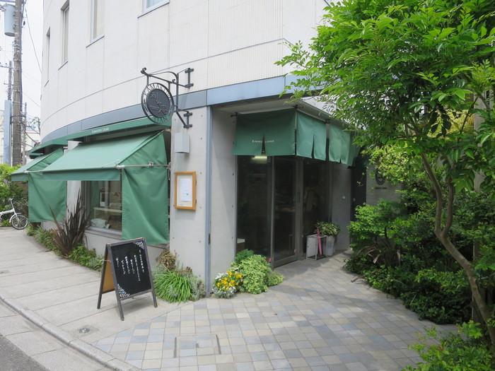 御成り通り商店街から少し小路に入り込んだところにある鎌倉利々庵(かまくら りりあん)。