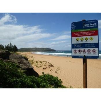 平日にお出かけすると、他のビーチに比べて人もまばらです!