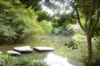 """夏目漱石の『三四郎』の舞台となったため「三四郎池」と呼ばれていますが、正式名称は「育徳園心字池」。前田家3代藩主利常の時代に整備した庭園(育徳園)の池です。(※「心字池」とは、""""心""""の字をかたどった池のこと。)"""