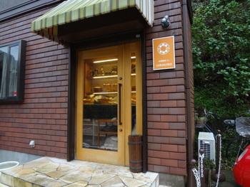 瑞泉寺山門に通じる道の途中にあるベーカリー&レストラン。