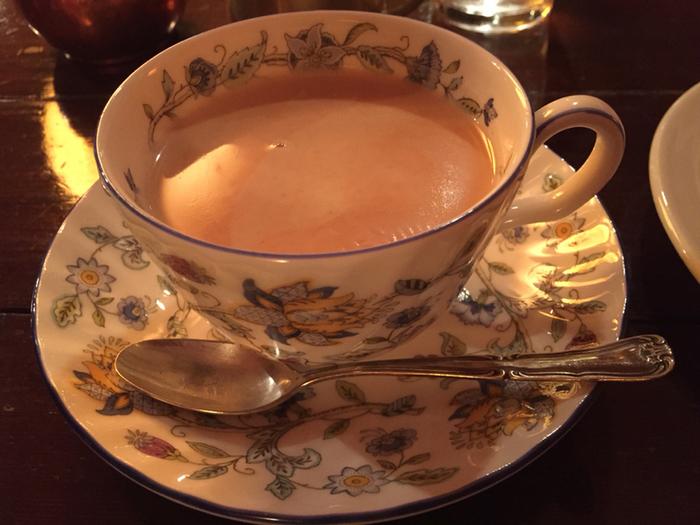 CAFE FOGLIO自慢のコクのあるロイヤルミルクティです。
