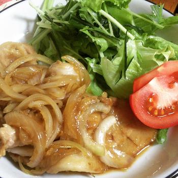基本のしょうが焼きも、この黄金比率でばっちりです。お弁当にもオススメのご飯に合う生姜焼きです。