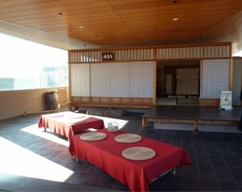 建築家 大江匡氏が設計したことでも知られる、「細見美術館」。 その最上階にあるのが、「茶室 古香庵」です。