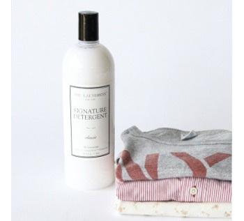 """おしゃれに敏感なNYからやってきた、ファブリックケアブランド「ザ・ランドレス」。""""大切な服は自分で洗ってケアする""""をテーマに、香りやエコにも配慮したこだわりの洗剤です。"""