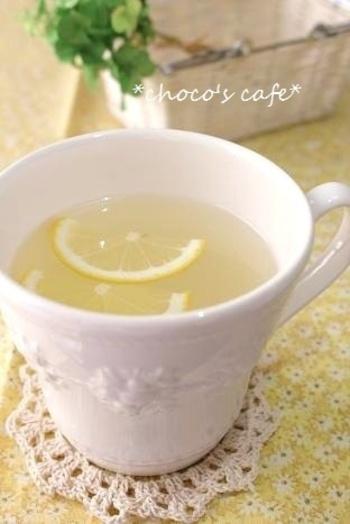 風邪気味で食欲が進まない時には、効率よくスポーツドリンクを使って栄養補給。レモネード×スポドリで、早く元気を取り戻しましょう!