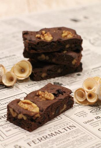 しっとり濃厚なチョコレートケーキ♪「ブラウニー」の作り方~簡単・本格・アレンジレシピまで~