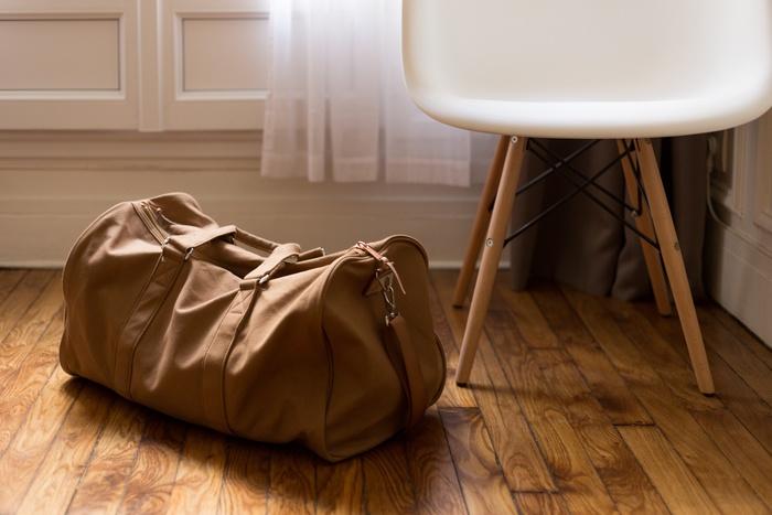 「ウィークエンダー」というだけに、週末の1〜2泊、ちょっとした旅行にぴったり。大きさが調整できるものもあります。思い立ったら荷物をまとめてgo!