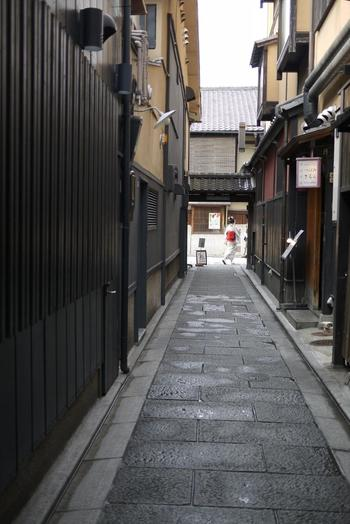 以下では、第1章で「建仁寺」について項目毎に案内し、第2章で周辺の飲食店を幾つか紹介します。ふらりと京都へ出掛ける旅の参考にして下さい。  【画像は、祇園界隈】