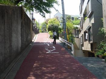 記念館から根津神社方面へ続くこちらの「藪下通り」は、かつては森鴎外の散歩道でした。多くの文人達もこの道を歩いて観潮楼を訪れていたそうです。