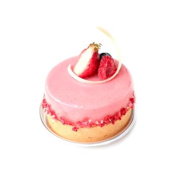 苺の風味が、口の中いっぱいに広がる幸せなひととき。