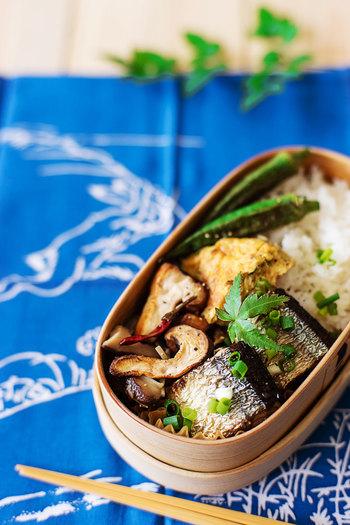 詰めてから時間が経っていても、ご飯はふっくらと、おかずは美味しくいただくことができます。