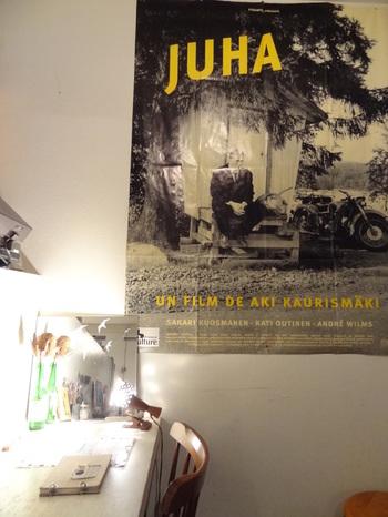 店名の「JUHA(ユハ)」は、フィンランドの映画監督アキ・カウリスマキの作品「JUHA:白い花びら」からとられました。