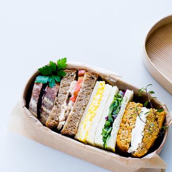 ご飯系だけじゃなく、実はサンドイッチにも良く合うんです。 休日のピクニックにもぴったり!