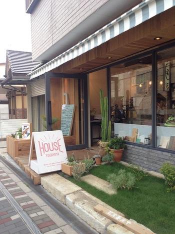 HOUSE YUIGAHAMAはシェアオフィスの役割も兼ねたカフェなんです。