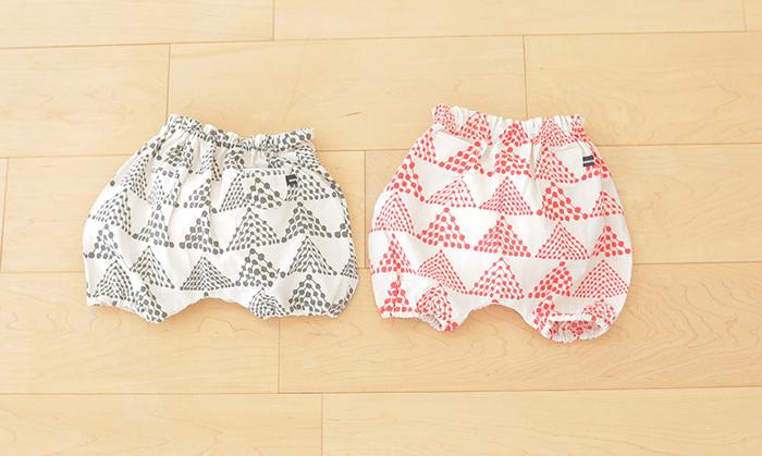 ミシンも使わず手縫いで作れるのでお手軽です。おしりには、ちょこんと可愛いポッケが付いています。赤ちゃんのぷっくり可愛いおしりを引き立ててくれますよ?