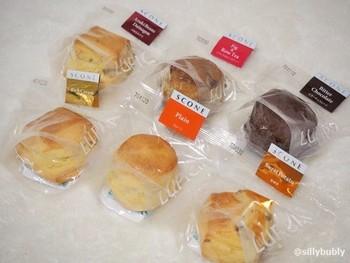 オレンジ&チョコレート、イチジク&ローズティーは阪神梅田店の限定。 その他にも、季節限定品もあるのでチェックして。個包装入りなので、お持たせにも◎