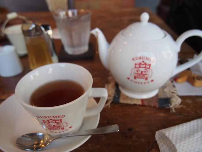 ナッツの香りのするオリジナル紅茶。