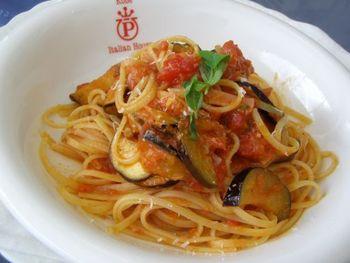 パスタがメインの週末限定ランチが人気。麺やソースはイタリアから取り寄せているそう。
