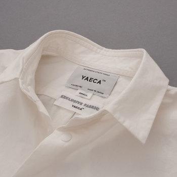 YAECAの魅力は、シンプルでありながらも細かなディティールが詰め込まれた着心地の良さとシルエットの美しさです。