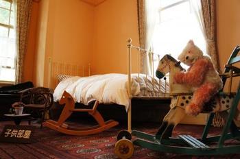 子供部屋もシックで、いい雰囲気ですよね。
