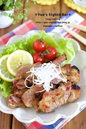 はちみつと味噌が豚肉によくからまり、とっても濃厚です。ご飯がどんどん進むおかずで、子供もたくさん食べてくれそう。